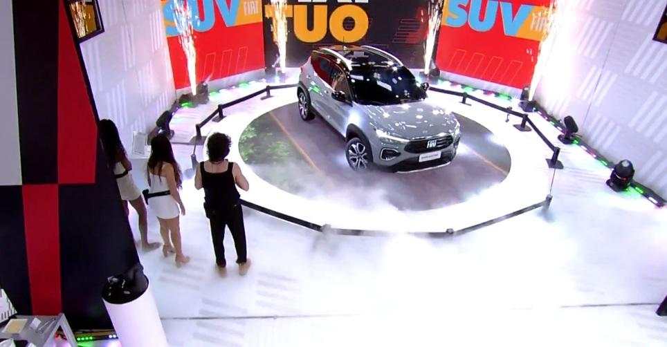 Novo SUV da Fiat revelado no BBB21