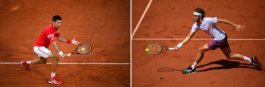 Djokovic e Tsitsipas