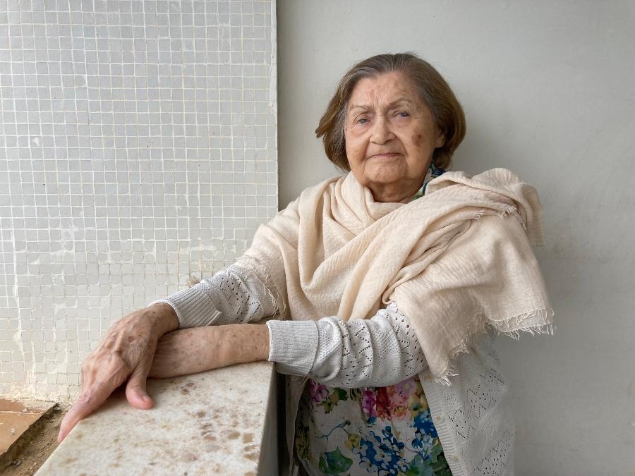 Aurélia Godoy, 90, tinha vida bastante ativa antes da pandemia