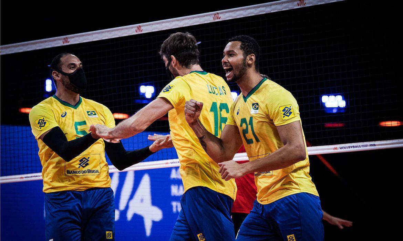 Já classificado, Brasil perde para Rússia na Liga das Nações de vôlei