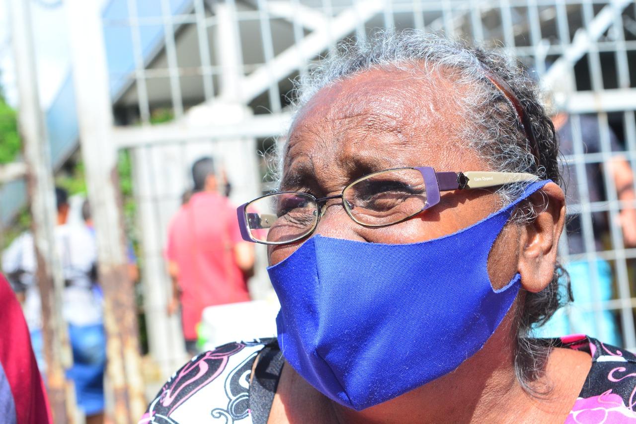 Maria Agripino Sousa dos Santos, de 68 anos