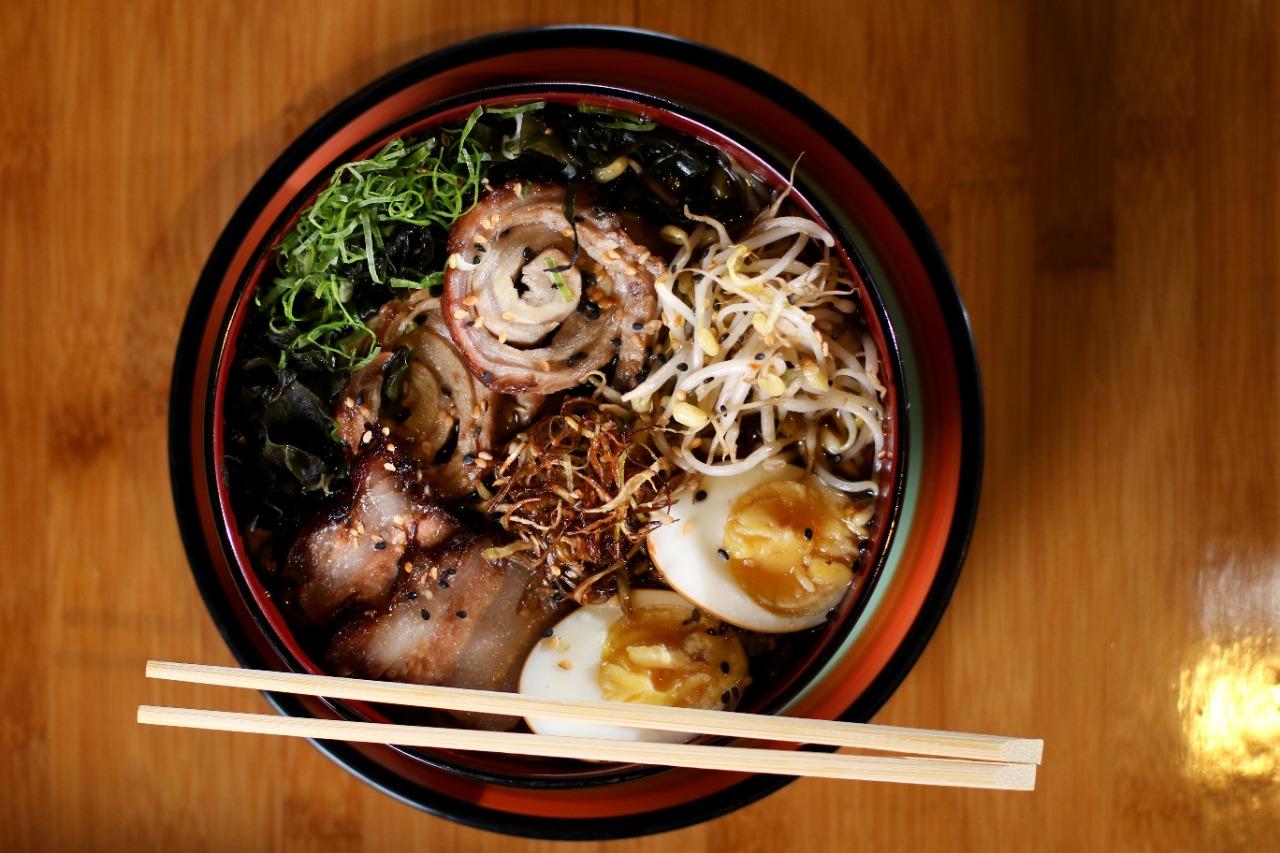 Lámen é um dos pratos populares no Japão