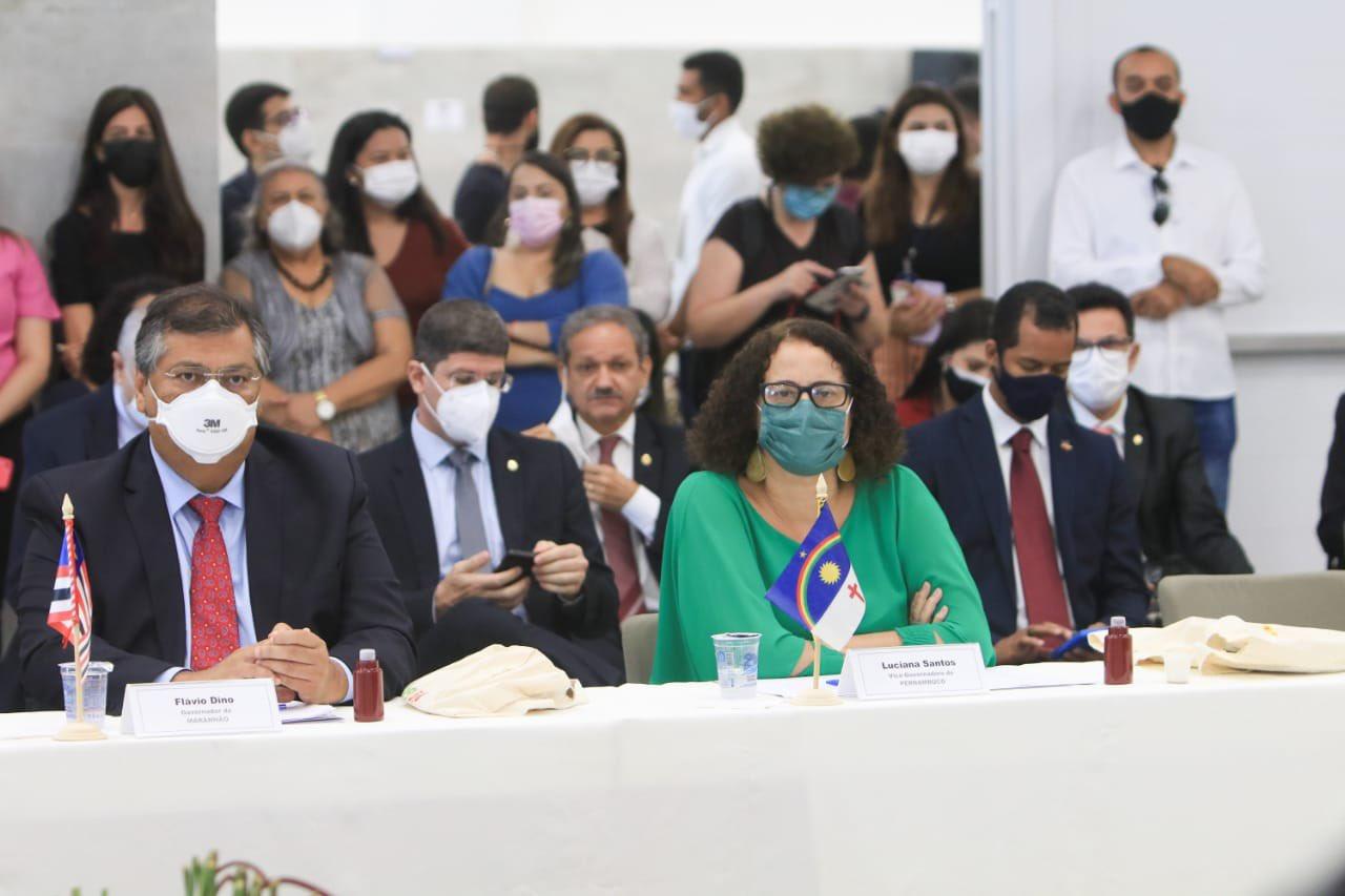 Vice-governadora de Pernambuco, Luciana Santos