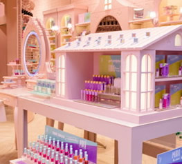 Marca de brinquedos investe na beleza infantil