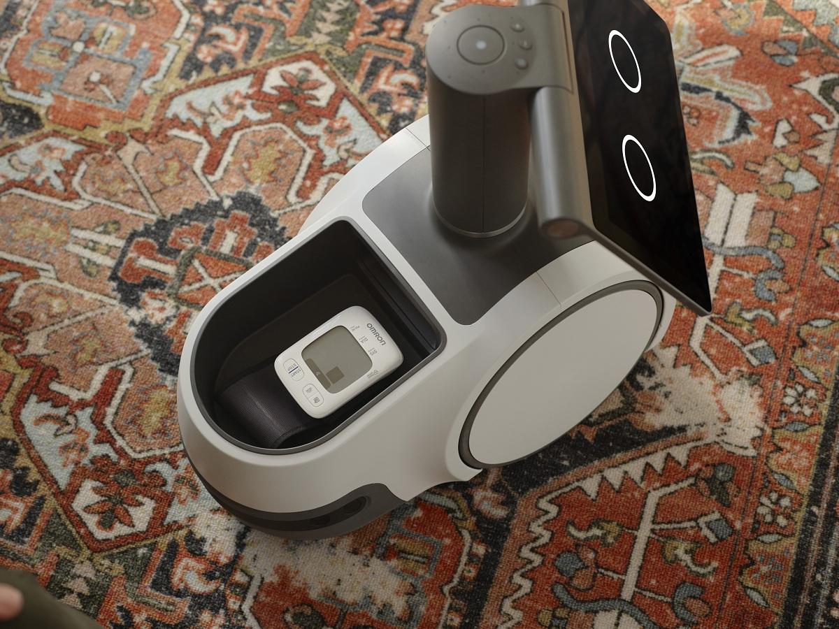 Robô da Amazon conta com compartimento para levar objetos até as pessoas