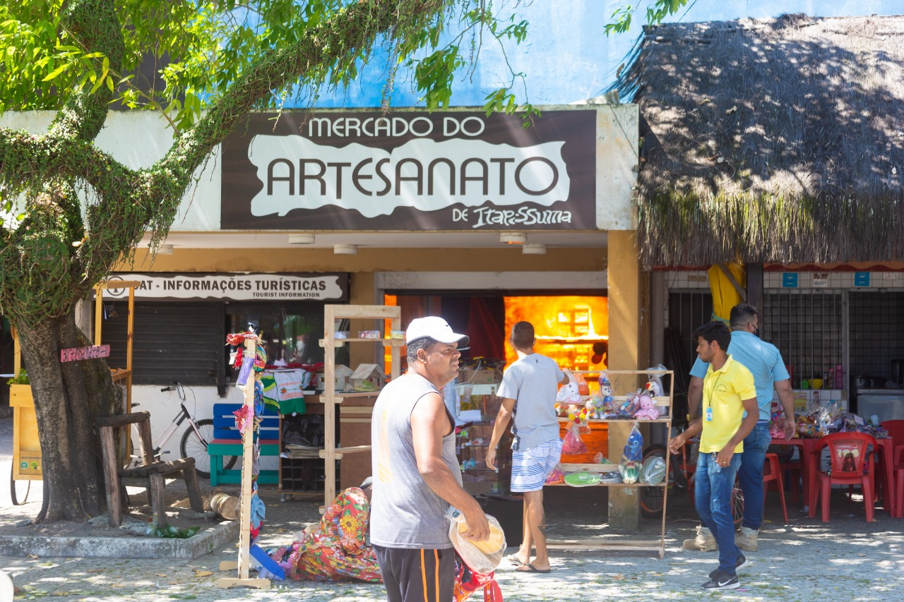 Incêndio no Mercado de Artesanato